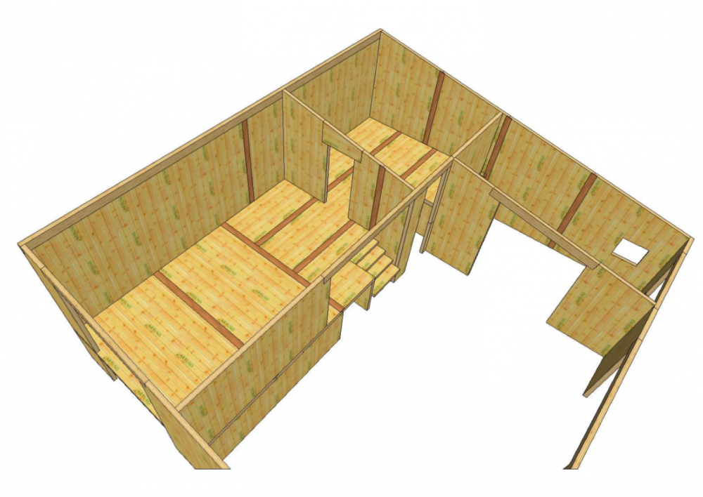 Toscana costruire con x-lam legno
